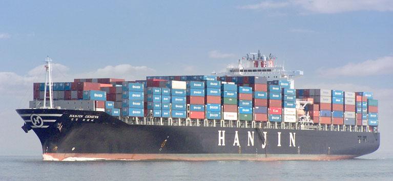 Risultati immagini per hanjin shipping
